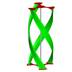 1.png Download STL file vertical axis wind turbine • Template to 3D print, dddmodeling
