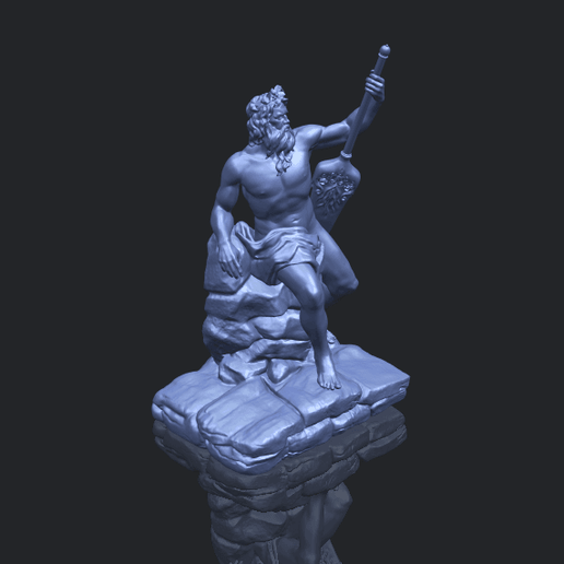14_Naked_Warrior_88mm_(repaired)B00-1.png Download free STL file Naked Warrior • 3D printer design, GeorgesNikkei
