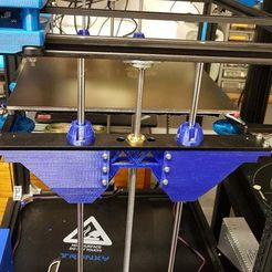 20200412_212945.jpg Download free STL file Tronxy X5S Z axis and bushing reinforcement for LM8UU • 3D print design, gnattycole