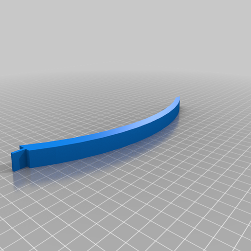 knife_stand_02_arm_210mm.png Download free STL file Knife display stand - customizable kit • 3D print model, mrgiacci