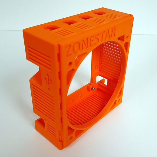 120fan_5.jpg Download free STL file Zonestar P802QR2 Large Motherboard Enclosure for 120mm Fan • Object to 3D print, boothyboothy