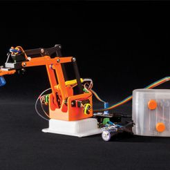 078c6f943dc1a5dac5f0de14a6cd6b59_display_large.jpg Download free STL file Build Grippy. The Arduino Nano-Driven Robotic Arm - now with Smartphone control • 3D printing model, DIYODE