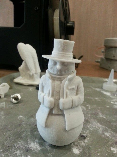 product_image_8901.jpg Download STL file Snowman frosty • 3D printable object, tridimagina