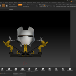96239569_552650758726566_462517834036019200_n.png Download STL file Iron Man Mark 2 Faceplate 1:1 • Template to 3D print, shadow_dragon3000