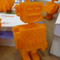 P1110569.JPG Download STL file robot riant • 3D printing template, Guich