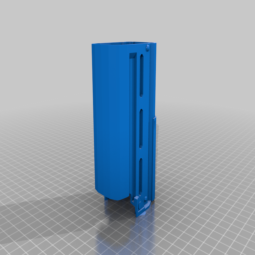 TL-50_Electronic_Body_2.png Download free STL file TL-50 Heavy Blaster; fixed parts & wood stock • 3D printing template, Straekers_Armory