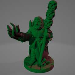 Demon Blight Necromancer.png Download STL file Demon-Blighted Necromancer • 3D printing template, Ellie_Valkyrie
