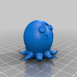 octupus_with_goggles.png Download free STL file Cute Octopus with Goggles • 3D printing model, danielrobert