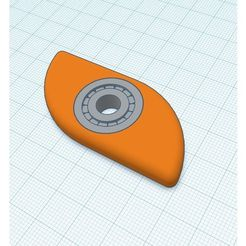a60a7d73db6870f93cc7abc4e5a3f957_preview_featured.jpg Download free STL file bearing W/ spinner • 3D printable template, Gophy