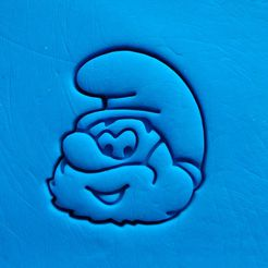 IMG_20170503_134558.jpg Download STL file Smurf - Papa smurf cookie cutter • 3D printable object, dragoboarder