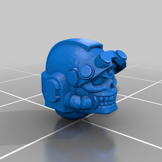 Space_Marine_NVG_bit_head_remix_4.png Download free STL file Space Warrior NVG conversion bits. • 3D printer template, El_Mutanto