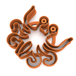LMM.png Download STL file Cookie cutter - Flying Spaghetti Monster 3D print model • 3D printing object, slylis