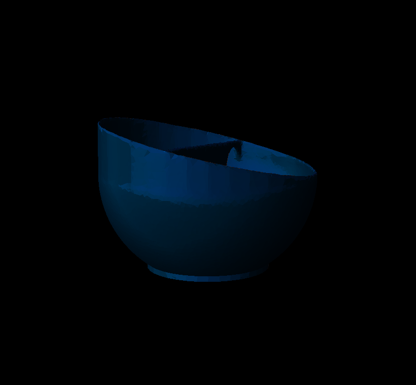 Cereal_Bowl3.png Download STL file Cereal Bowl • 3D printing template, crossthread