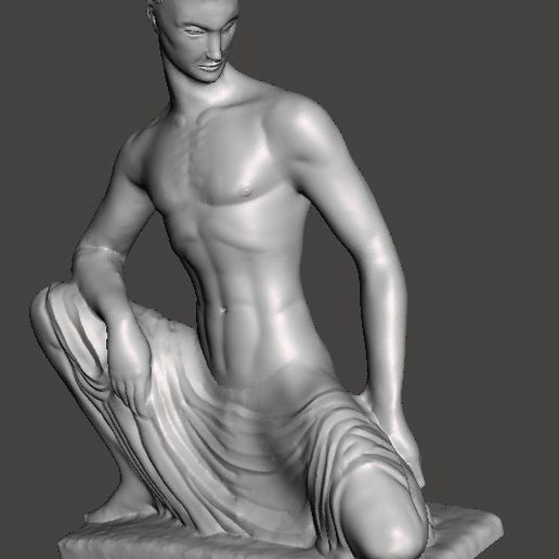 seated-male-sculpture.jpg Download free STL file Seated male • 3D printable template, paulsroom