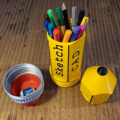 2-4.jpg Download STL file Pencil-ONE • Template to 3D print, Ocrobus