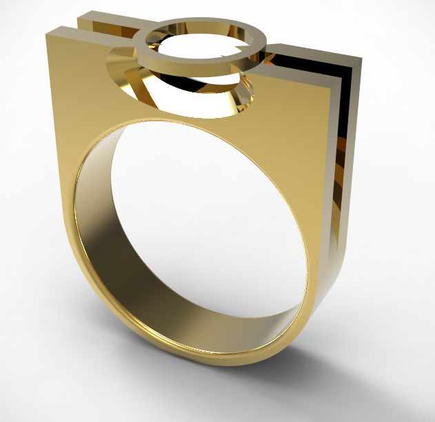 prong-ring.PNG Download STL file Prong ring • 3D print template, plasmeo3d