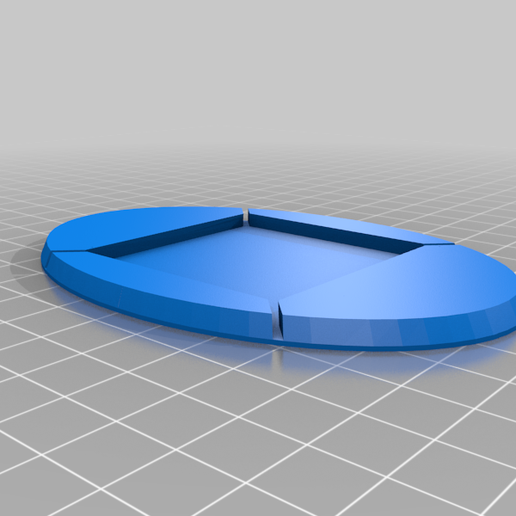 50x50_-_70x105_mm_Rectangle_to_Oval_base_converter-monobloc.png Download free STL file Square to Round or Oval Base Converters Monobloc for TPU • 3D printable model, TOTOleHero