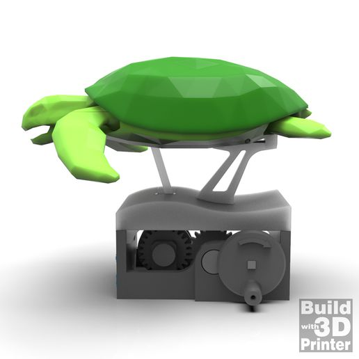 ST_1-1_011.jpg Download free STL file Save the Sea Turtles (automata) • 3D print design, Jwoong