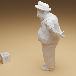 umarell_3.png Download STL file Umarell Boss • Design to 3D print, NOZZLE
