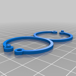 Attache_plante.png Download free STL file Stake holder • Template to 3D print, Forestier57