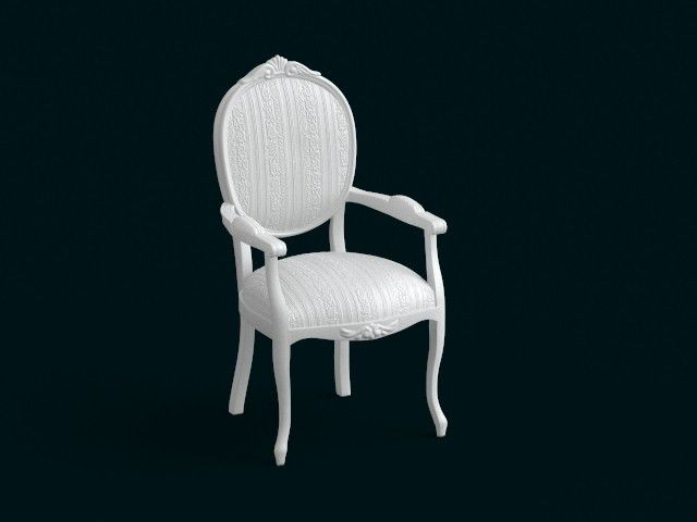 01.jpg Download file 1:10 Scale Model - ArmChair 07 • Object to 3D print, sidnaique