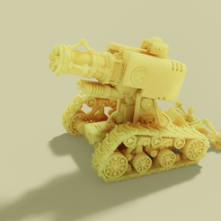 thunderfire_render.png Download free STL file Cannon of Fire and Thunder • 3D printing model, danny_cyanide