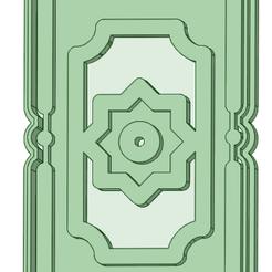 Alfombra_e.png Download STL file Cookie cutter rug • 3D printer template, osval74