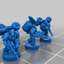 firewing_enigmatus_6mm.png Download free STL file Enigmatic Gloomy Boys - 6-8mm • 3D printer template, KillMeForPrizes