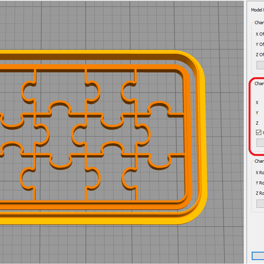 5.png Download free STL file Forms for cookies and gingerbread Puzzle (SET 3) • 3D printable object, dmitriysk3d