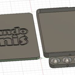 fusion.JPG Download free STL file Square Wet Palette • 3D printing template, lucassgpina