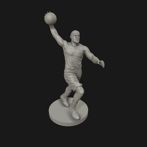 screenshot000.jpg Download OBJ file LeBron James 3D Dunk Model for 3D printing • 3D printing object, selfix