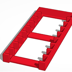 hZllAdfsq3.png Download free STL file Gameboy Module Tray • 3D print template, annonymefg