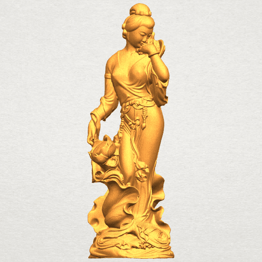 TDA0449 Fairy 04 A01.png Download free STL file Fairy 04 • Object to 3D print, GeorgesNikkei