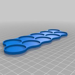 5ba377c26ca05adce4388a7f903c1af8.png Download free STL file Movement tray 10 x 32mm (Long) • 3D printer object, MoronixProduct3