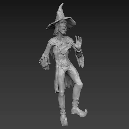 rincewind render (5).jpg Download STL file Rincewind - Discworld • Object to 3D print, Odrivous