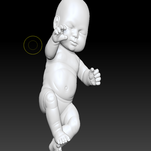 BABY (2).png Download OBJ file little baby 3D print model • 3D printer model, DesignerWinterson