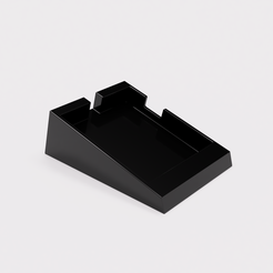 Grinder_single_Dose_Stand_2021-May-26_05-45-14PM-000_CustomizedView4967219835_png.png Download STL file Eureka Mignon Incline Single Dose Stand • 3D printing design, baristabydesign