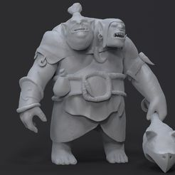 Ogre NEW.54.jpg Download free STL file Dota 2 Fanart Ogre Magi • 3D printable template, Ak_SiD