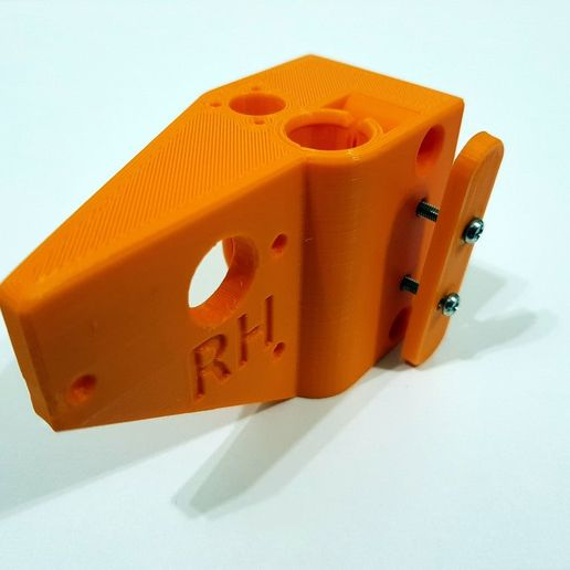 Ten4.jpg Download free STL file Zonestar P802QR2 X Axis Extruder Mount with Tensioner • Model to 3D print, boothyboothy