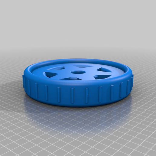 Roue_Jardin.png Download free STL file Roue 6,5'' • Object to 3D print, maelgodard