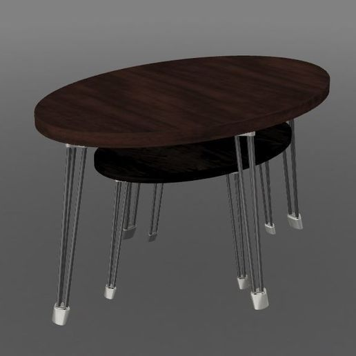 V2 Centre dessus.JPG Download STL file PING & PONG tables • Object to 3D print, MyVx35