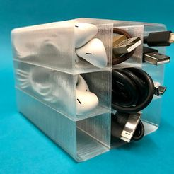 IMG_9505.jpg Download free STL file Cable Organizer • 3D printer object, christan