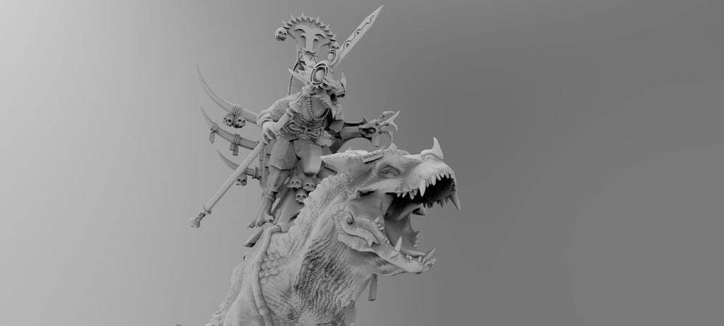 untitled.566.jpg Download free 3MF file One-Armed Dino-Jesus & His Pet Tyrannosaur • 3D printing model, EmanG