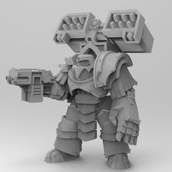 32845209f5224bf2609d2126b89a3456_display_large.jpg Download free OBJ file Legion Elites - 4th Legion Siege Breakers • 3D printable model, ThatEvilOne