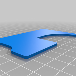 CCBypass.png Download free STL file Credit Card Door Bypass Shim • 3D print model, ryan7373