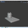 Screenshot (13).png Download free STL file Low Polly Tree Stump Phone Stand • 3D printable model, troopy9594