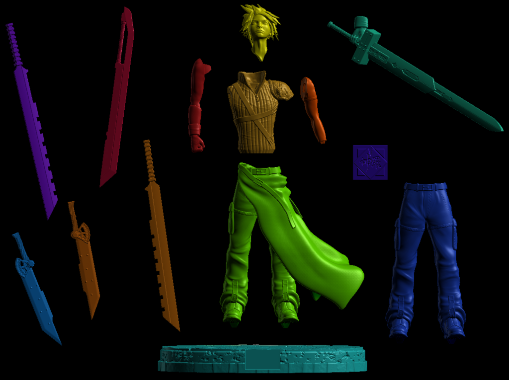 Annotation_2019-09-16_181512.png Download free STL file Cloud Strife ( Free soon / Bientot Gratuit ) • 3D printing model, BODY3D