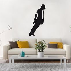 MJackson pared.jpg Download STL file Michael Jackson Wall • 3D printable design, LCdesign