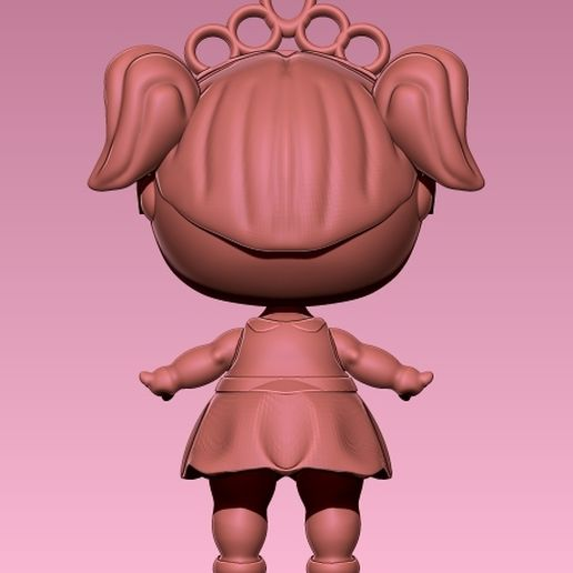LOL 5.jpg Download STL file LOL SURPRISE! Looks Like Based On Doll Model • Template to 3D print, ALTRESDE