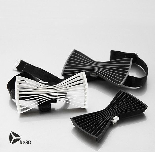 THREESOME_CULTS.jpg Download free STL file Bow tie 01 - Flat • 3D printable design, Ysoft_be3D